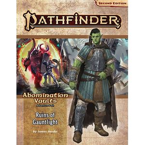 [Pathfinder: 2nd Edition: Adventure Path: Ruins Of Gauntlight (Abomination Vaults 1 Of 3) (Product Image)]