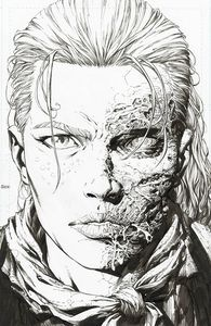 [Walking Dead: Deluxe #5 (Cover B Finch & Mccaig Raw Variant) (Product Image)]