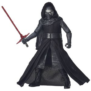 [Star Wars: The Force Awakens: Black Series: Wave 1 Action Figures: Kylo Ren (6 Inch Version) (Product Image)]