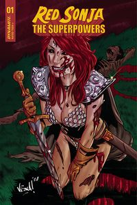 [Red Sonja: The Superpowers #1 (Federici Zombie Variant) (Product Image)]