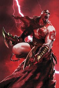 [God Of War: Fallen God #4 (Product Image)]