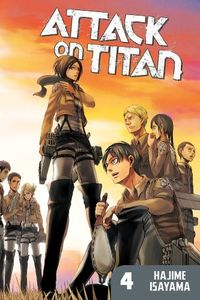 [Attack On Titan: Volume 4 (Product Image)]