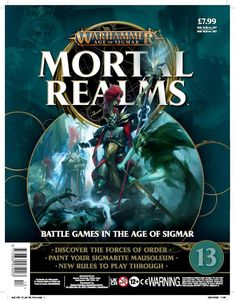 [Warhammer: Age Of Sigmar: Mortal Realms #13 (Product Image)]