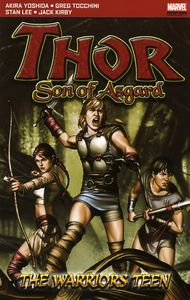 [Thor: Son Of Asgard The Warriors Teen (Pocket Book) (Product Image)]