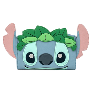[Lilo & Stitch: Loungefly Bi-Fold Wallet: Stitch Luau Cosplay (Product Image)]
