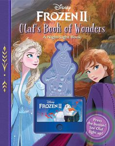 [Disney Frozen 2: Olaf's Book of Wonders (Hardcover) (Product Image)]