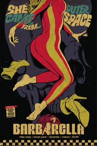 [Barbarella #7 (Cover A Billy) (Product Image)]