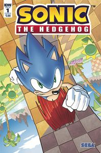 [Sonic The Hedgehog #1 (Cover B Yardley) (Product Image)]