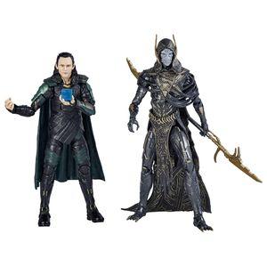 [Avengers: Infinity War: Marvel Legends Action Figure 2-Pack: Corvus Glaive & Loki (Product Image)]