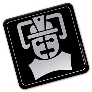 [Doctor Who: Coaster: Tomb Of The Cybermen Emblem (Product Image)]
