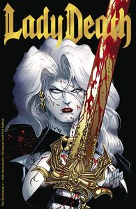 [Lady Death: The Reckoning #1 (25th Anniversary Gold Foil Edition) (Product Image)]