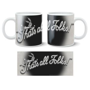 [Looney Tunes That's All Folks Mug (Product Image)]