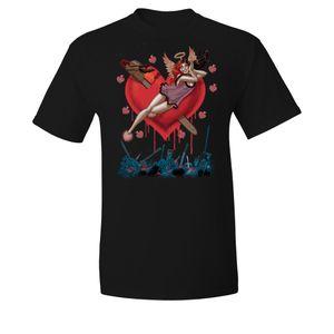 [Batman: T-Shirt: I Heart Harley Quinn By Amanda Conner (Product Image)]