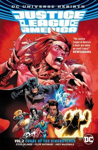[Justice League Of America: Volume 2: Kingbutcher (Rebirth) (Product Image)]