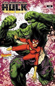 [Immortal Hulk #32 (Zircher Spider-Woman Variant) (Product Image)]