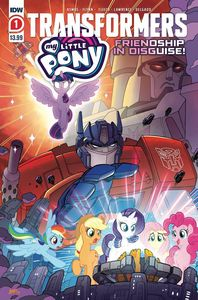 [My Little Pony/Transformers #1 (2nd Printing) (Product Image)]