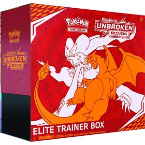 [Pokemon: Trading Card Game: Sun & Moon 10 Unbroken Bonds: Elite Trainer Box (Product Image)]