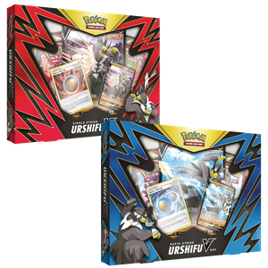 [Pokémon: Trading Card Game: V Boxes: Single Strike & Rapid Strike (Product Image)]