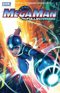 [The cover for Mega Man: Fully Charged #1 (Cover A Main)]
