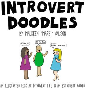 [Introvert Doodles: An illustrated look at introvert life in an extrovert world (Hardcover) (Product Image)]