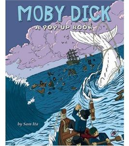 [Moby Dick: Graphic Novel Pop-Up Book (Hardcover) (Product Image)]