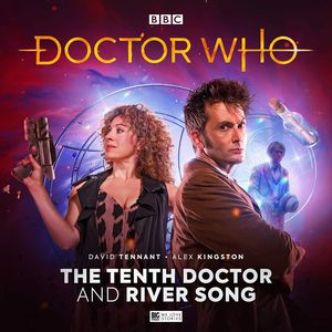 [Doctor Who: The Tenth Doctor Adventures: The Tenth Doctor & River Song (Box Set) (Product Image)]