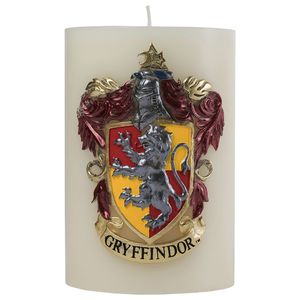 [Harry Potter: Sculpted Insignia Candle: Gryffindor (Product Image)]