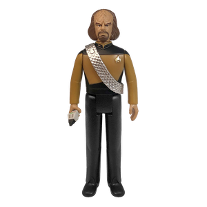 [Star Trek: The Next Generation: ReAction Action Figure: Worf (Product Image)]