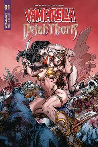 [Vampirella Dejah Thoris #1 (Cover B Pagulayan) (Product Image)]