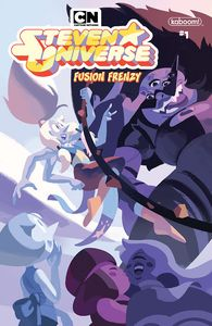 [Steven Universe: Fusion Frenzy #1 (Main Cover A Connecting) (Product Image)]