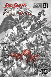 [Red Sonja: Age Of Chaos #1 (Quah Hell Red Variant) (Product Image)]