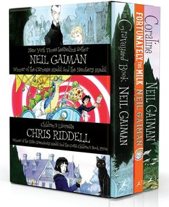 [Neil Gaiman & Chris Riddell Box Set (Product Image)]