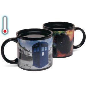 [Doctor Who: Mug: TARDIS Heat Change (Product Image)]