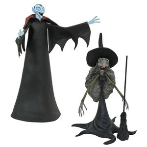[Nightmare Before Christmas: Select Series Action Figures: Small Vampire & Tall Witch (Product Image)]