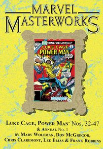 [Marvel Masterworks: Luke Cage: Power Man: Volume 3 (Dm Variant Edition 271 Hardcover) (Product Image)]