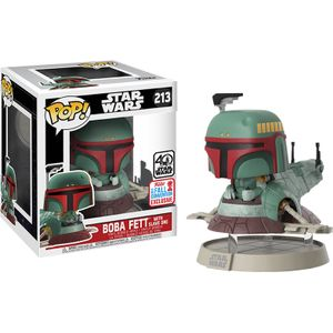 [Star Wars: Pop! Deluxe Figure: Boba Fett With Slave I (NYCC 2017) (Product Image)]