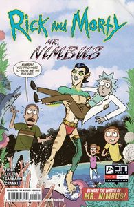 [Rick & Morty: Mr Nimbus #1 (Cover B Hobbes) (Product Image)]