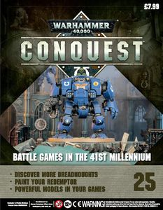 [Warhammer 40K: Conquest: Figurine Collection #25 (Product Image)]