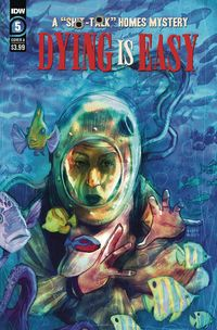 [The cover for Dying Is Easy #5 (Cover A Simmonds)]