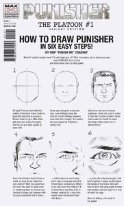[Punisher: Platoon #1 (Zdarsky How To Draw Variant) (Product Image)]
