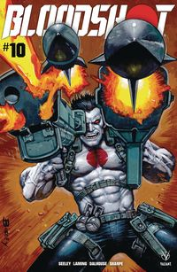 [The cover for Bloodshot (2019) #10 (Cover A Bisley)]