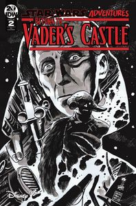 [Star Wars Adventures: Return To Vader's Castle #2 (Francavilla Black & White Variant) (Product Image)]