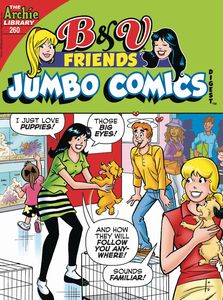 [B & V Friends: Jumbo Comics Digest #260 (Product Image)]