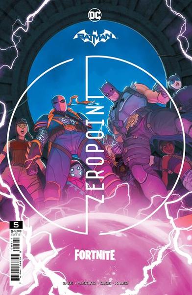 [The cover for Batman/Fortnite: Zero Point #5]