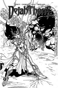 [Dejah Thoris: 2019 #7 (Castro Black & White Variant) (Product Image)]