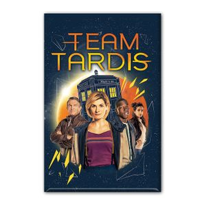 [Doctor Who: Magnet: Team TARDIS (Product Image)]