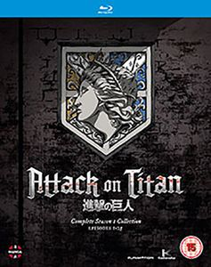 [Attack On Titan: Complete Season 1 (Blu-Ray) (Product Image)]