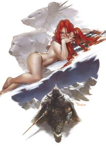 [Cimmerian: Frost Giants Daughter #2 (Mercado Virgin Variant) (Product Image)]
