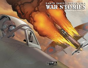[War Stories #25 (Wrap) (Product Image)]