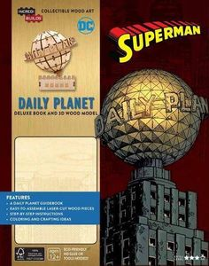 [Incredibuilds: Superman: Daily Planet Deluxe Book & Model Set (Hardcover) (Product Image)]
